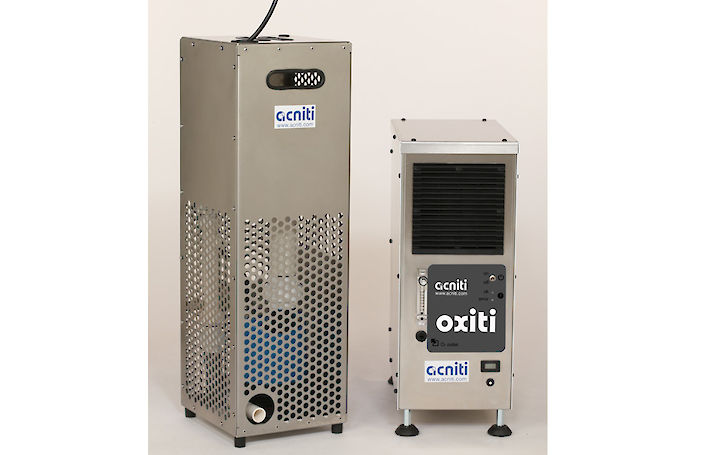 acniti submersible nano bubble unit and O2 concentrator