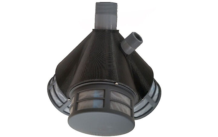 RF100 triplex: inlet filter (strainer) product