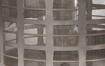 RF200AS inlet filter, sintered 316 stainless steel mesh