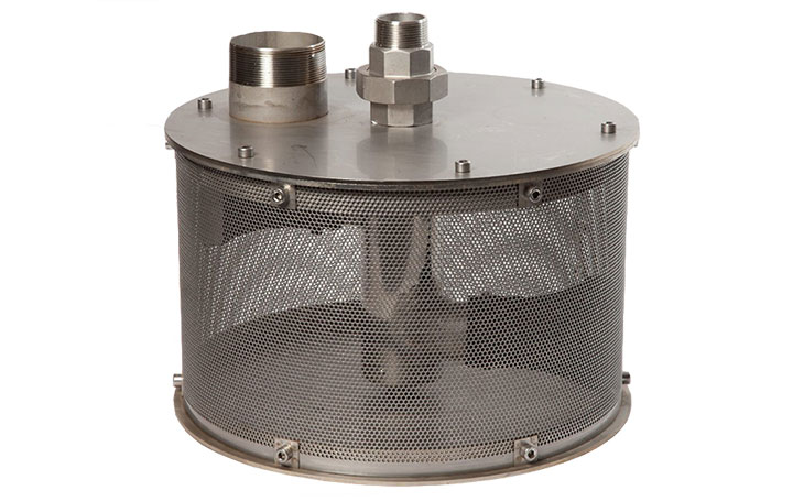 RF400R self cleaning strainer
