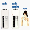 Sedis and Sedis Respiro hydrogen water dispensers