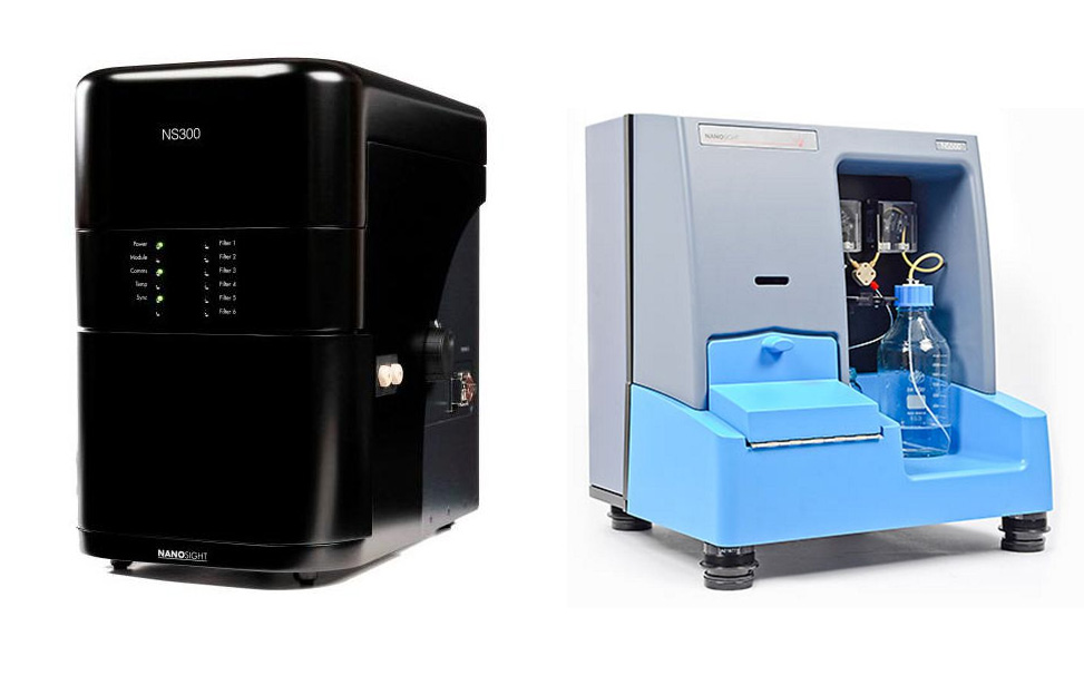 Ultrafijne bubbelanalysator NanoSight NS300V-HS