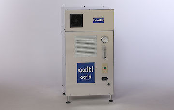 industrial oxygen concentrator with booster