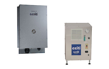 Oxiti oxygen concentrator with Turbiti nanobubble generator