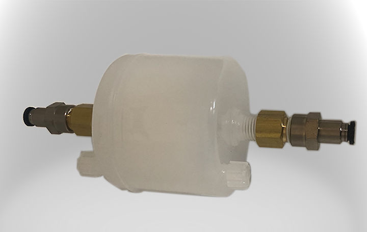 cartridge filter 2~7μm with NPT and quick release fitting 6mm