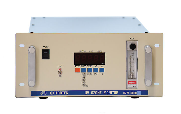 Ozone water monitoring and control measurement based on UV absorption